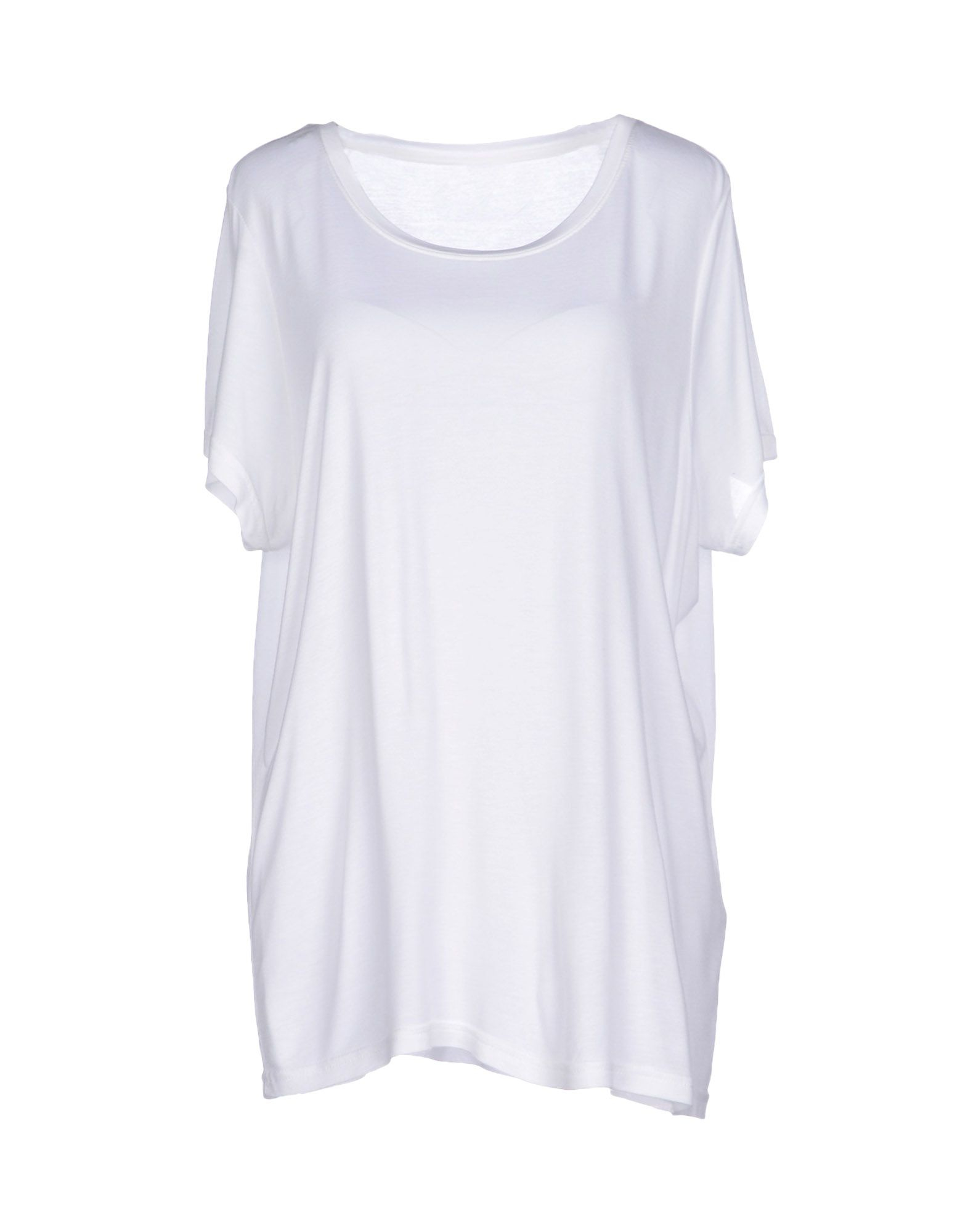 vero moda t shirt in white save 30 lyst. Black Bedroom Furniture Sets. Home Design Ideas