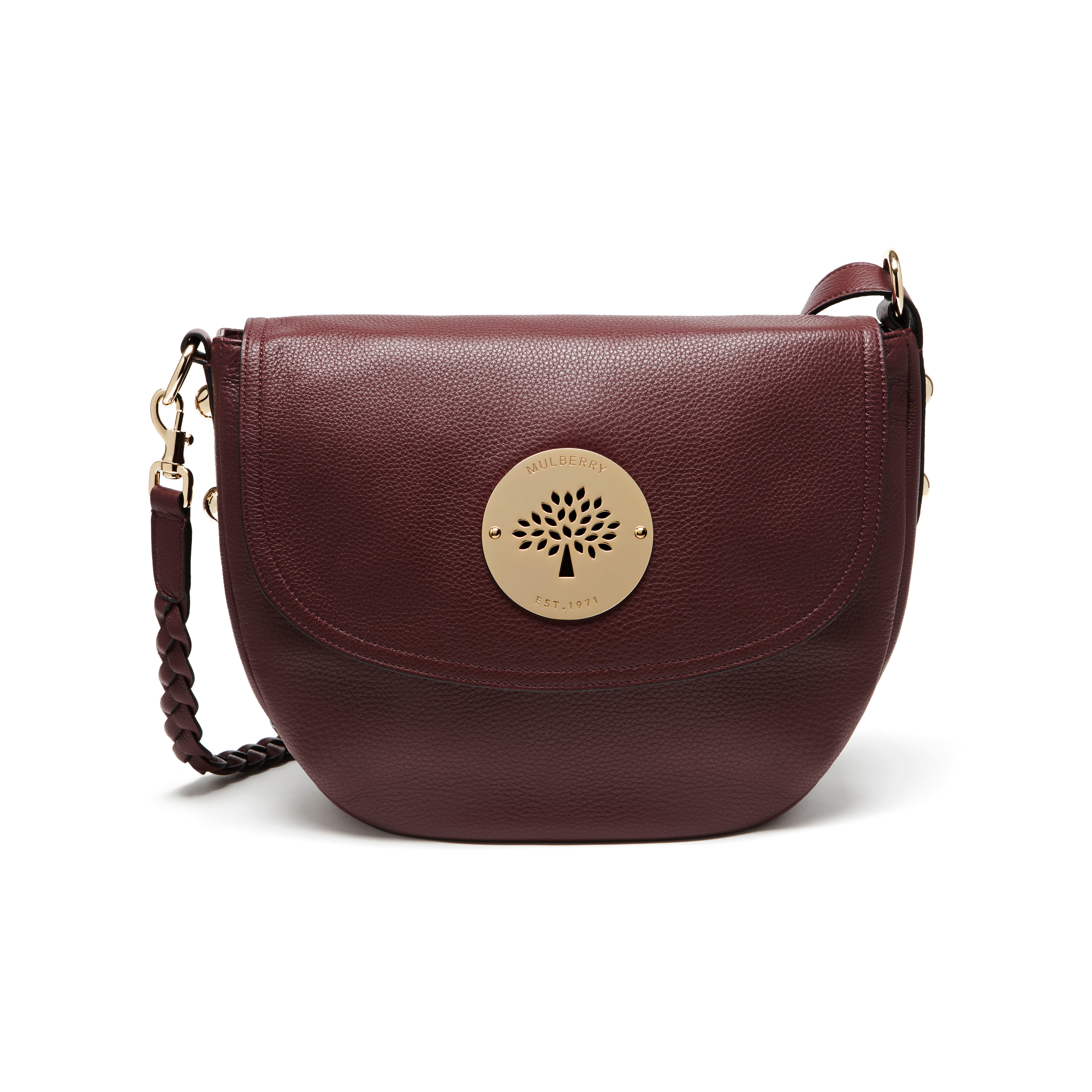 Mulberry Daria Satchel in Red - Lyst d7b239932ddc8