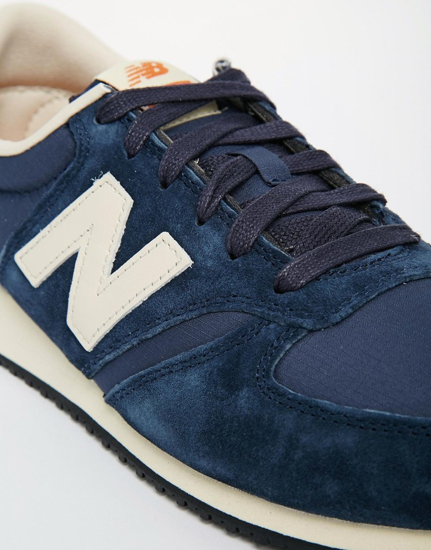 pub yves saint laurent - New balance 420 Premium Ripstop Trainers in Blue for Men | Lyst