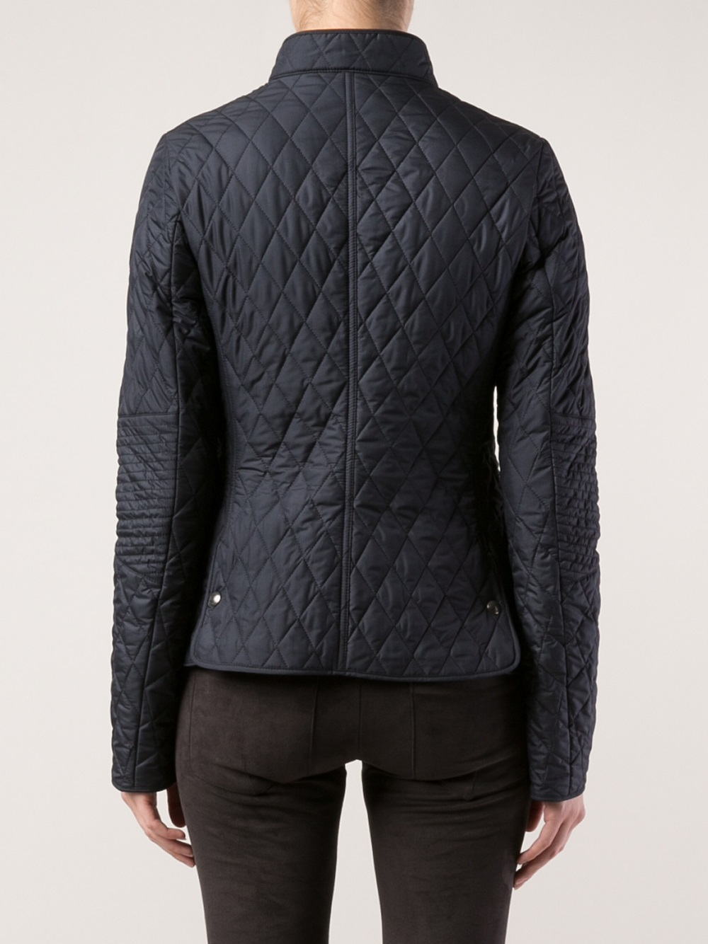 Lyst Belstaff Quilted Jacket In Blue