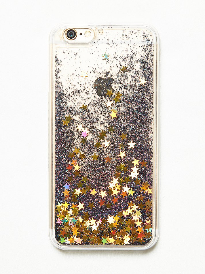 free people iphone case lyst free liquid glitter iphone in black 5941