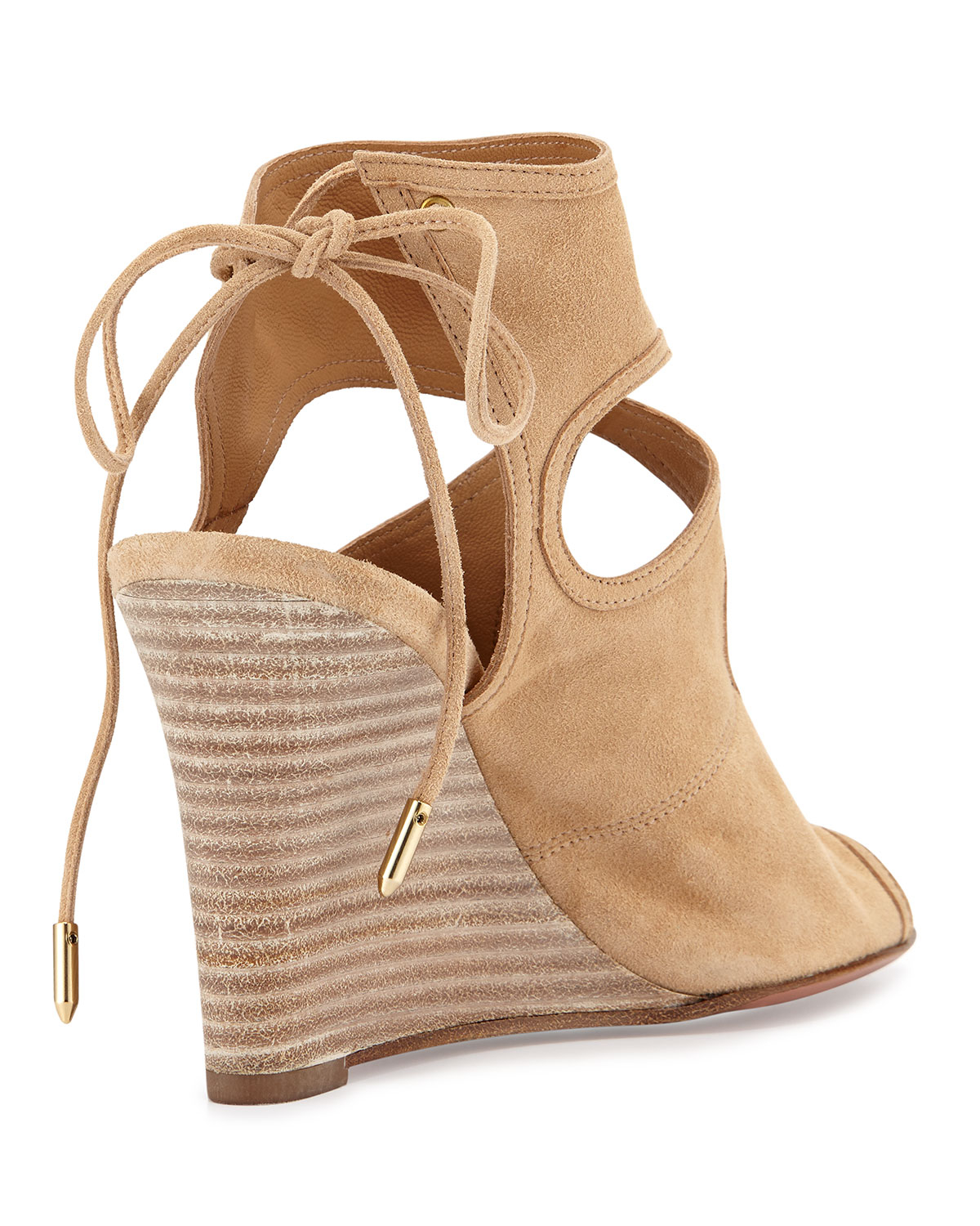 Aquazzura Sexy Thing 85 Wedges cheap sale latest collections looking for Y2ufDae