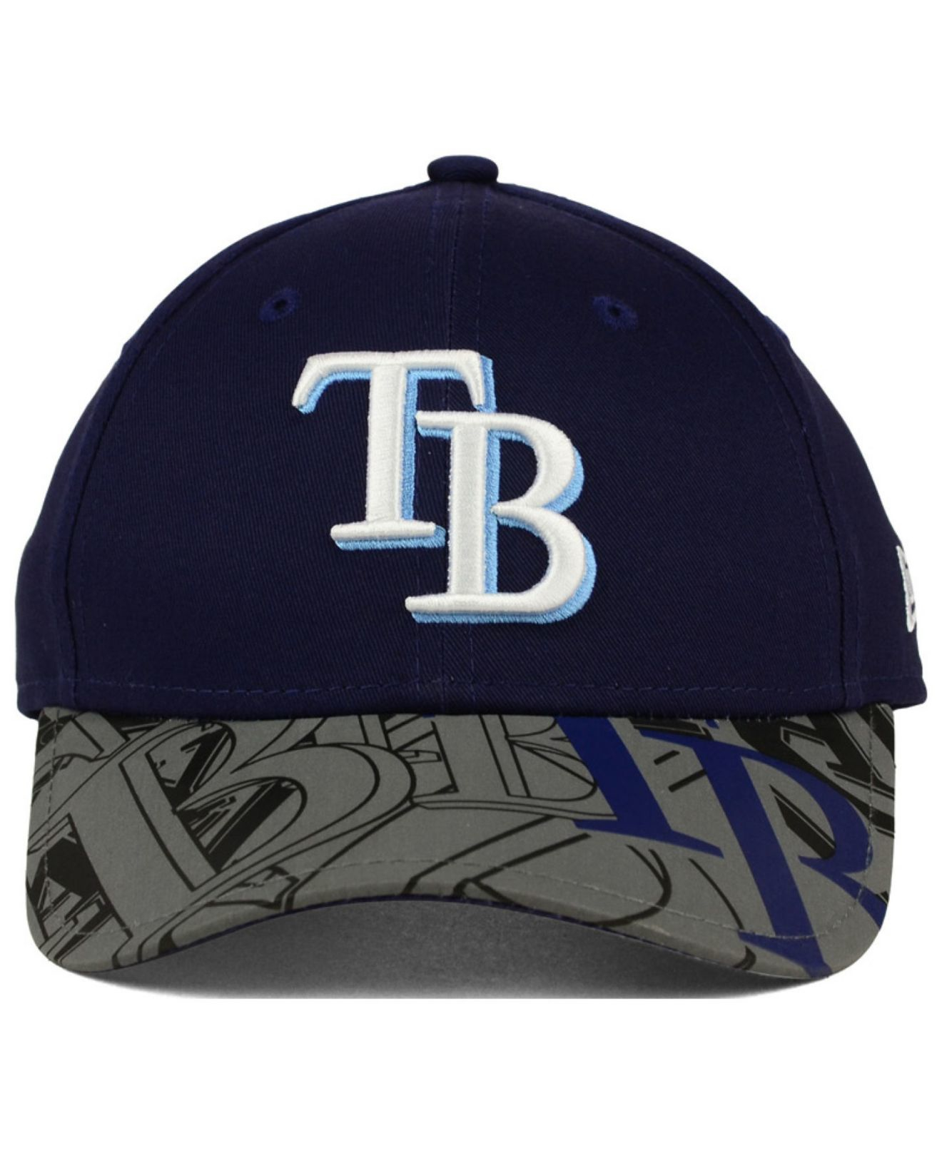 new styles 8d644 a5209 ... 9fifty snapback cap lids 268d4 8b2e8  australia shopping lyst ktz kids tampa  bay rays reflect fuse 9forty cap in brown c0fe5 cfbeb