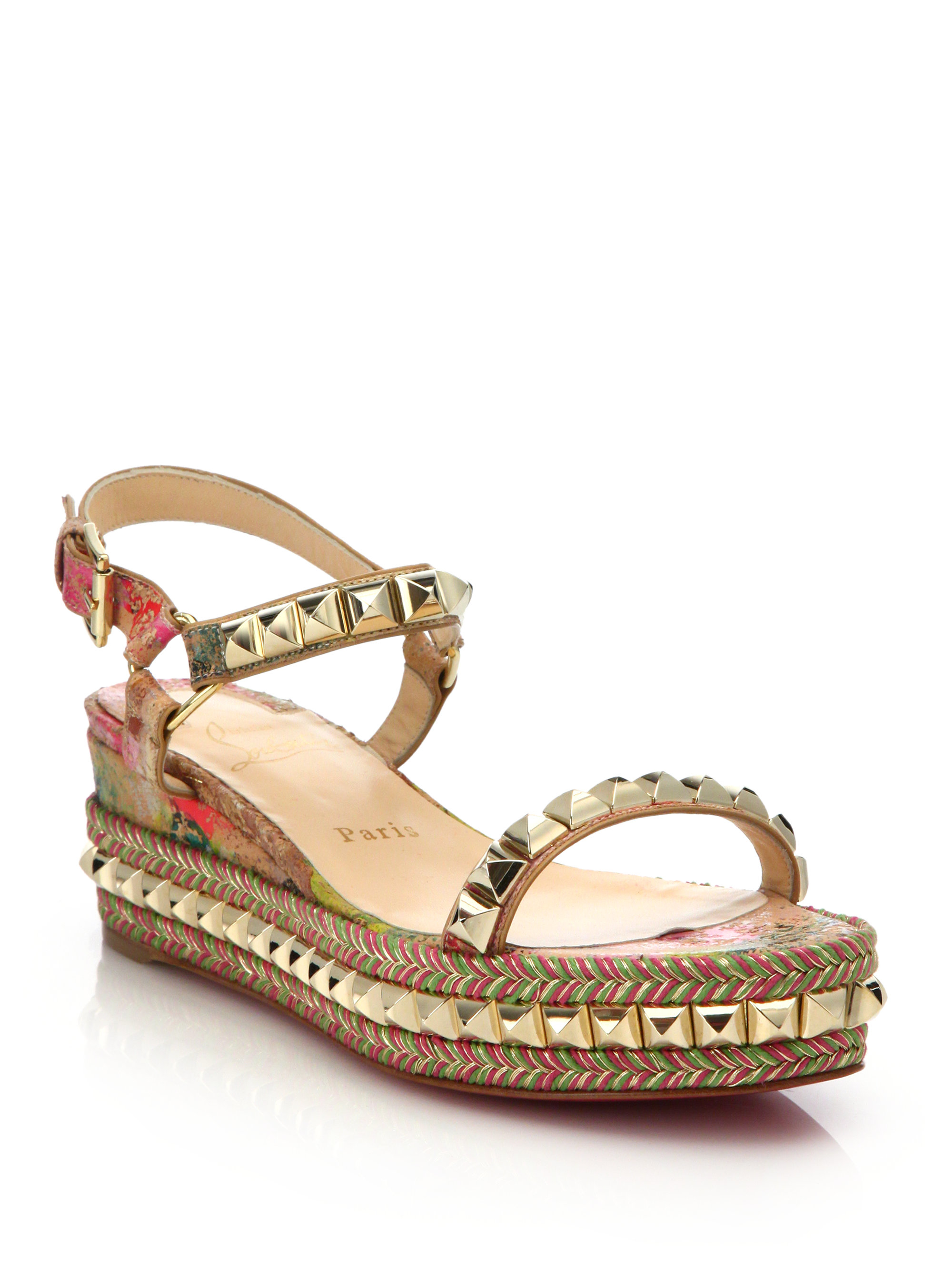 5feaa7784947 Gallery. Previously sold at  Saks Fifth Avenue · Women s Christian  Louboutin Cataclou