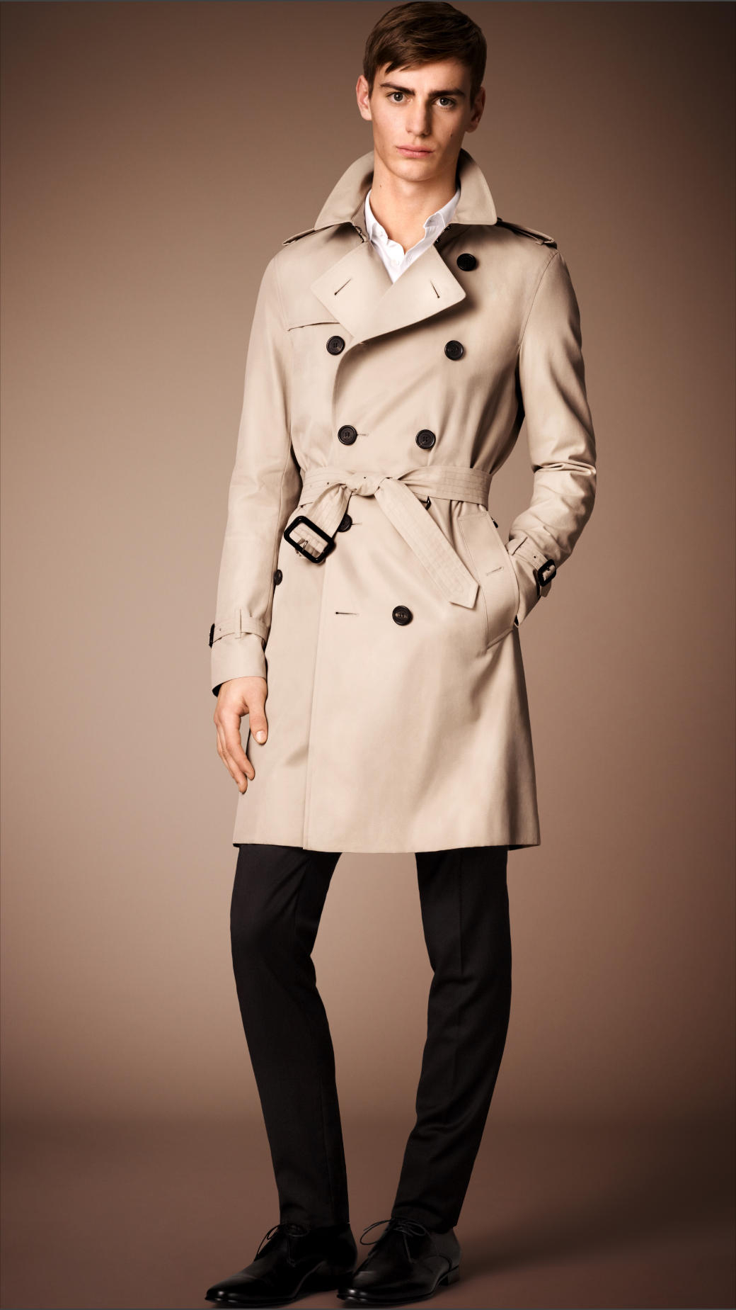 The Sandringham long trench Burberry Cheap Pay With Paypal FlDvTO