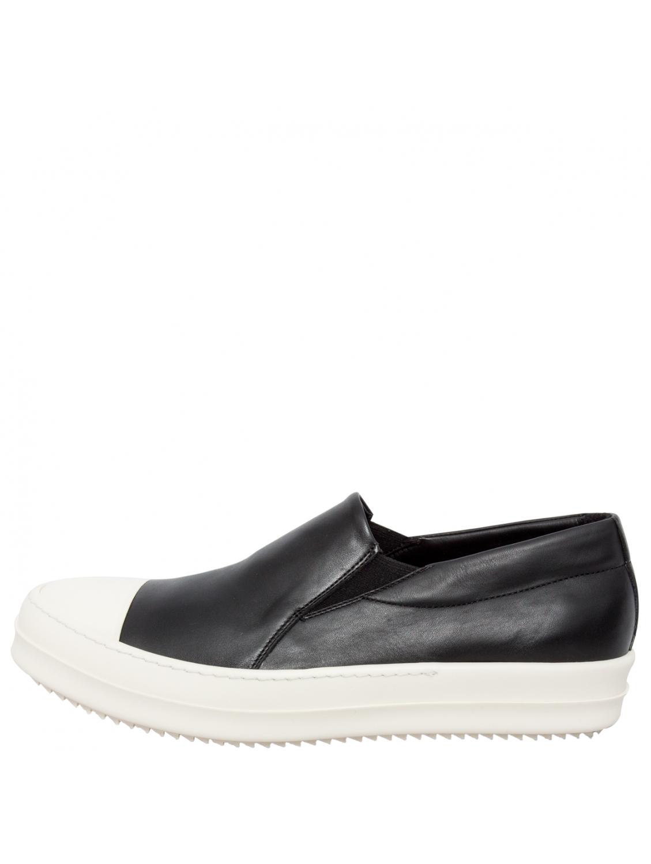 platform boat sneakers - Black Rick Owens vK1THU