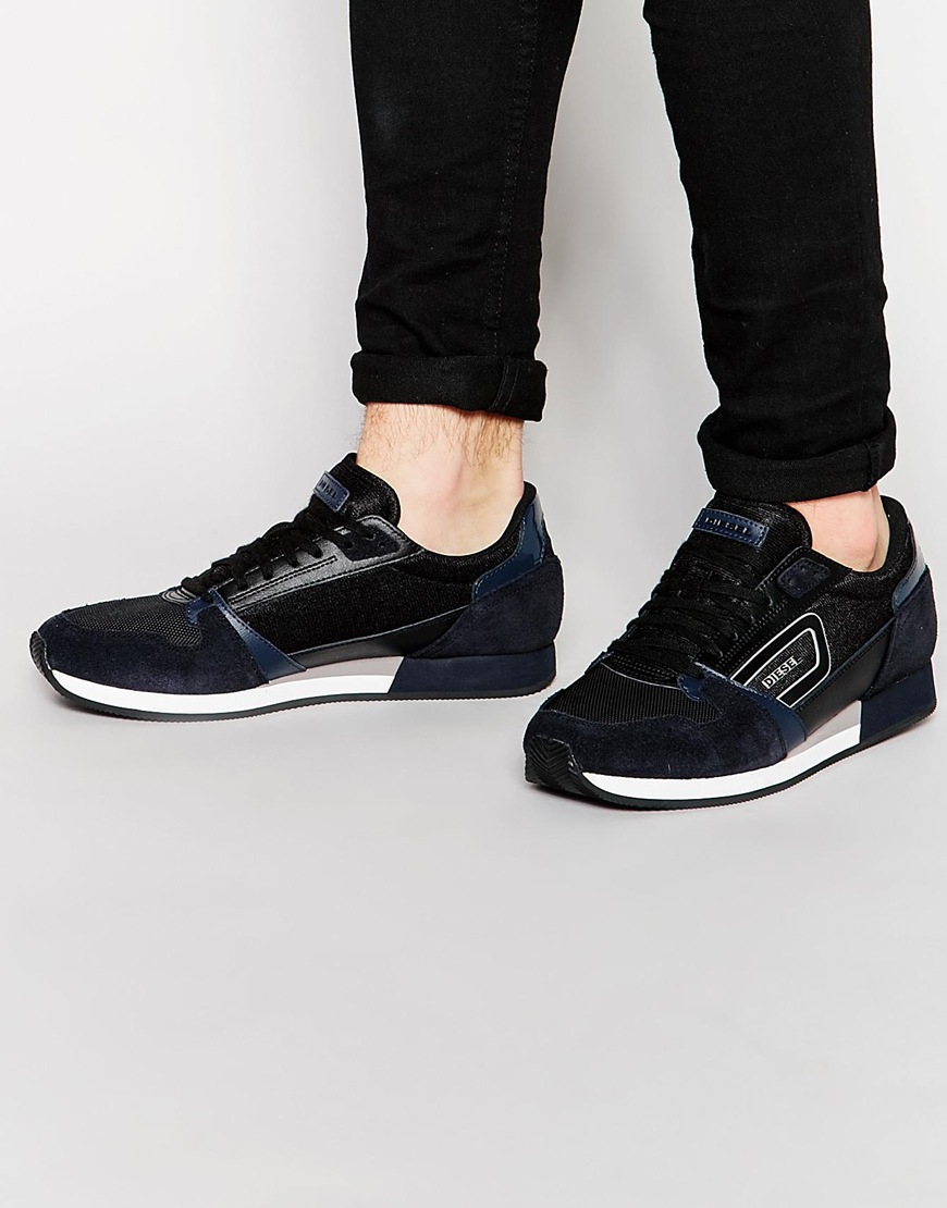 Buy Men Shoes  Diesel Owens Runner Trainers