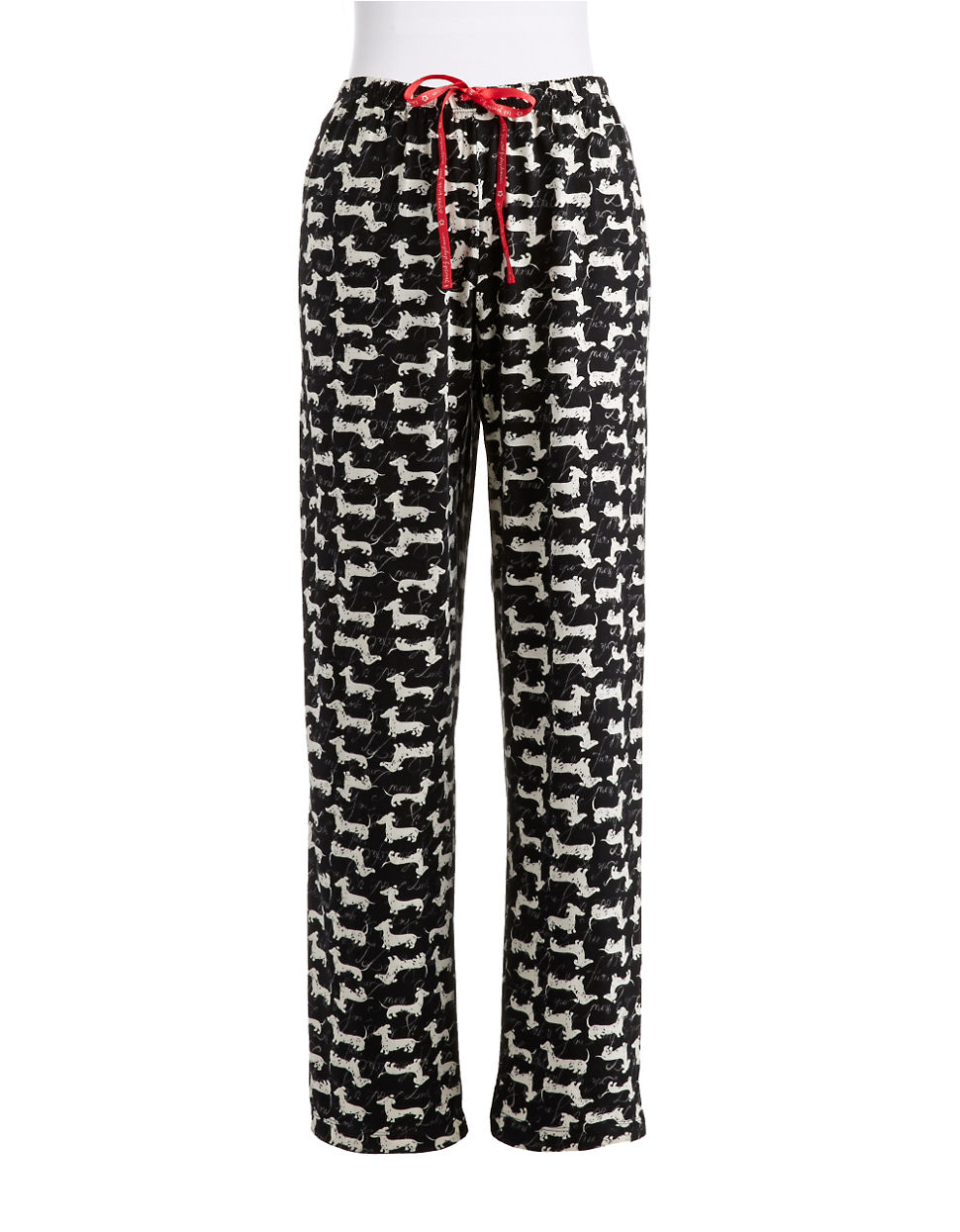 Lyst Hue Dachshund Pajama Pants In Black