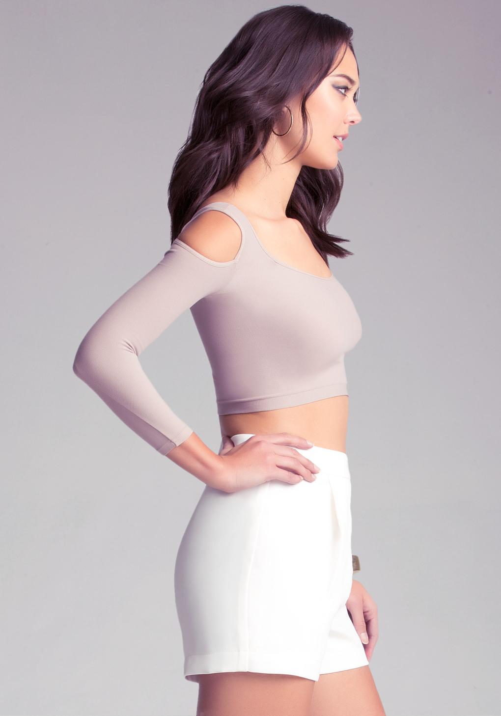 ec697b68be1ca1 Gallery. Women s Rainbow Print Tops Women s Light Denim Shirts Women s Cold  Shoulder ...