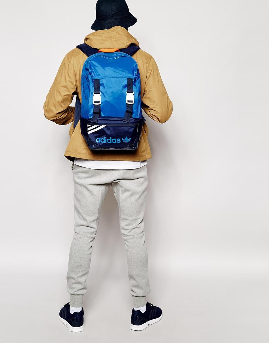 c0d294d0fb44 Lyst - adidas Originals Zx Backpack in Blue for Men