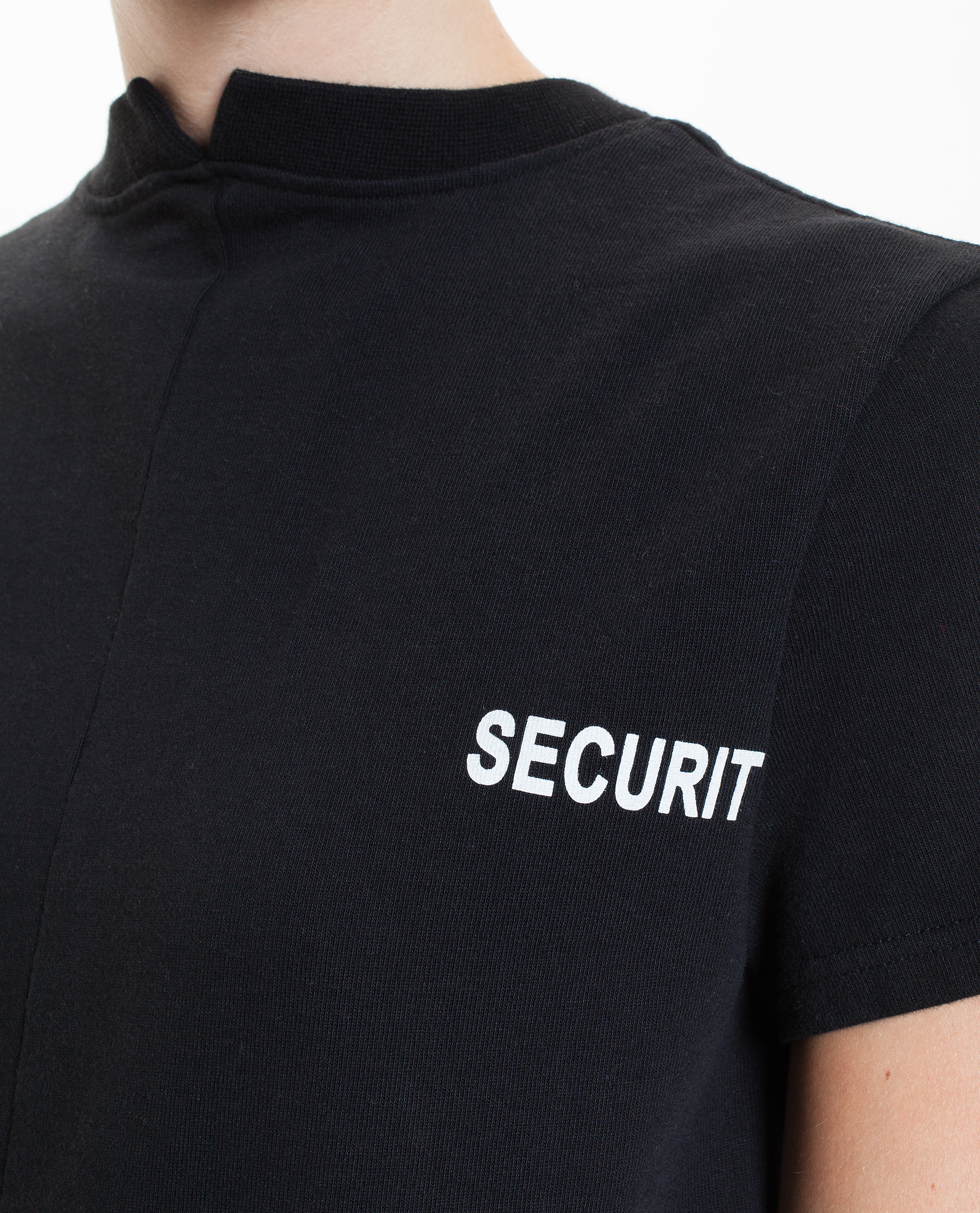 vetements securite t shirt in black lyst. Black Bedroom Furniture Sets. Home Design Ideas