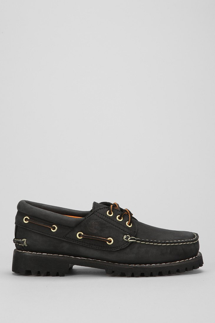 Timberland Classic  Eye Boat Shoe Black