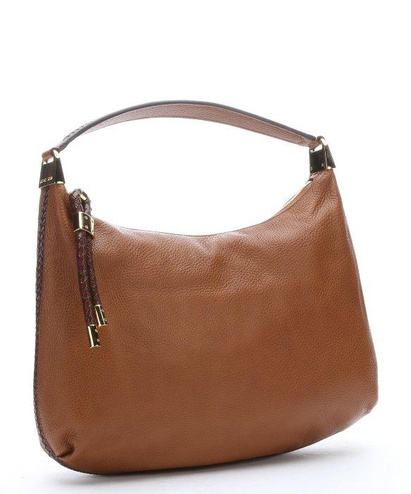17015af43497 ... cheap lyst michael kors luggage leather large skorpios hobo shoulder  132f6 32cc1