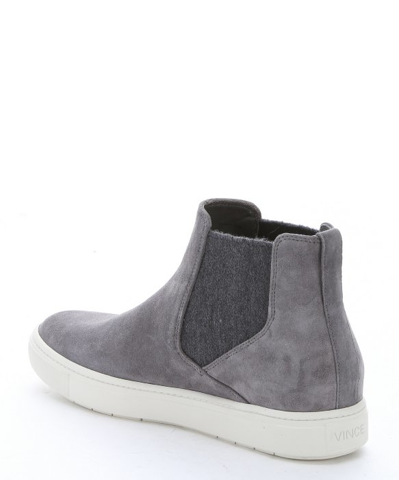 Lyst Vince Ceramic Suede Newlyn Chelsea Boot Sneakers