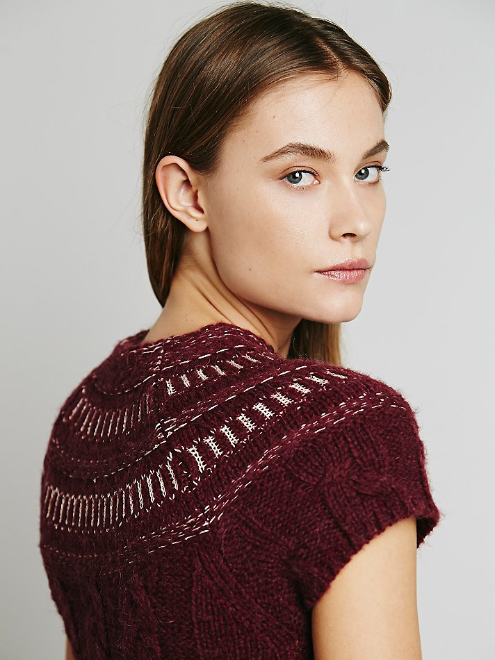 Lyst Free People Womens Nordic Nights Sweater Dress In