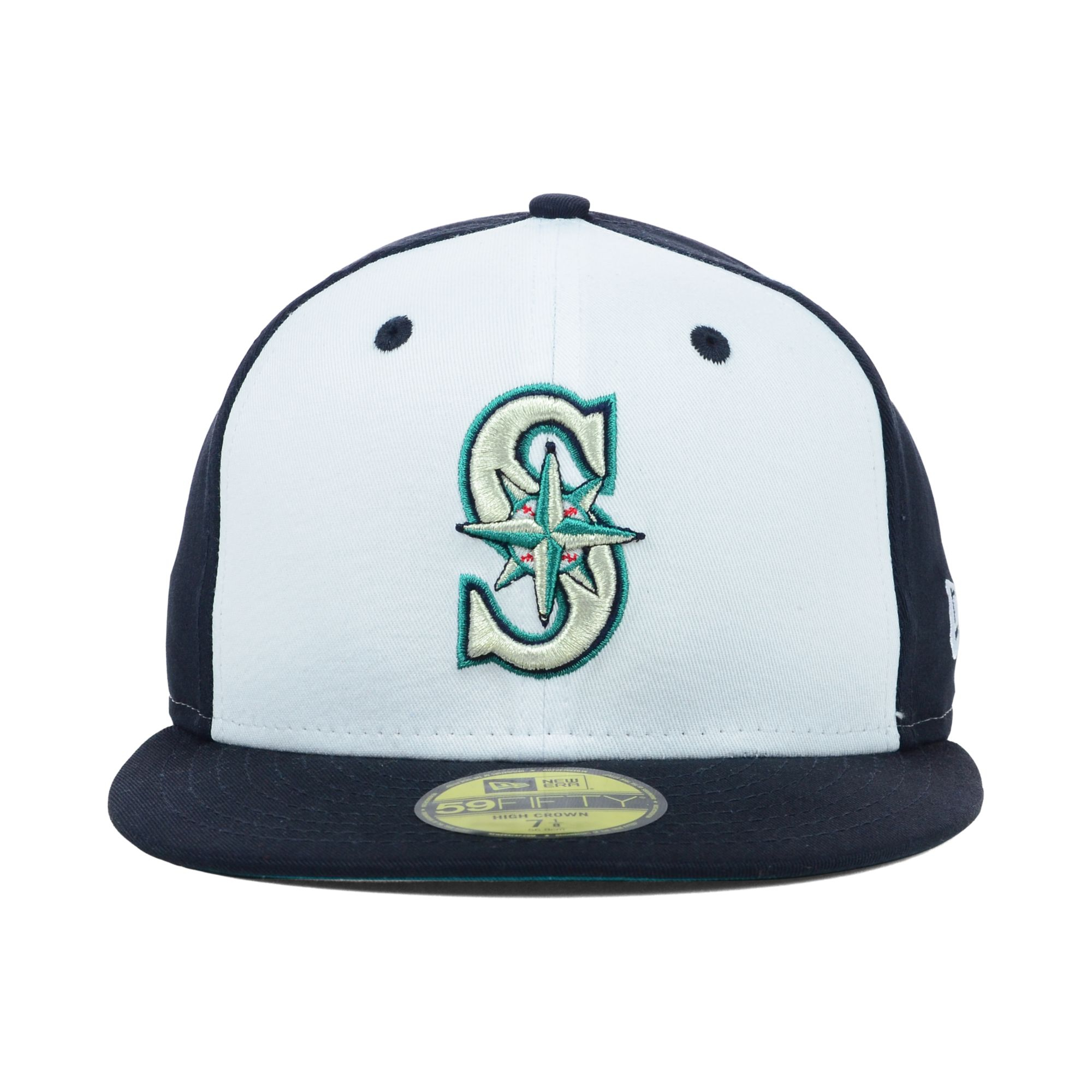 finest selection 825af a655e ... canada lyst ktz seattle mariners mlb high heat 59fifty cap in blue for  men 36b63 8ce0c