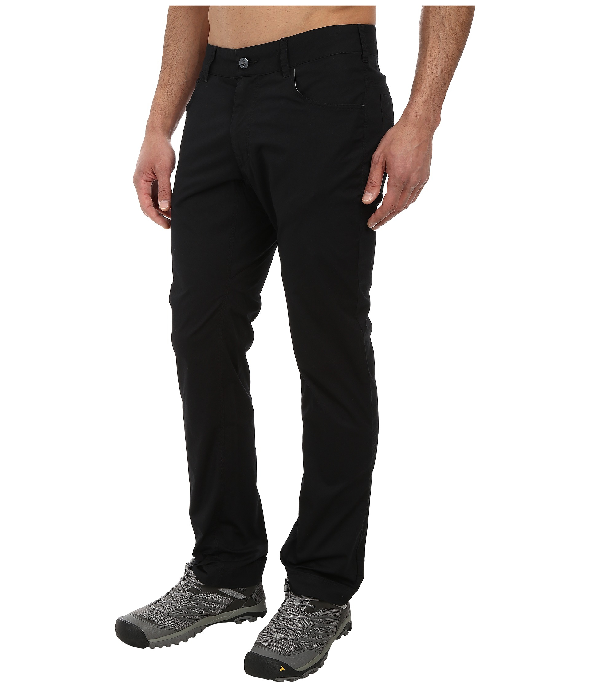 5205dd77433bfe Black Diamond Stretch Font Pants in Black for Men - Lyst