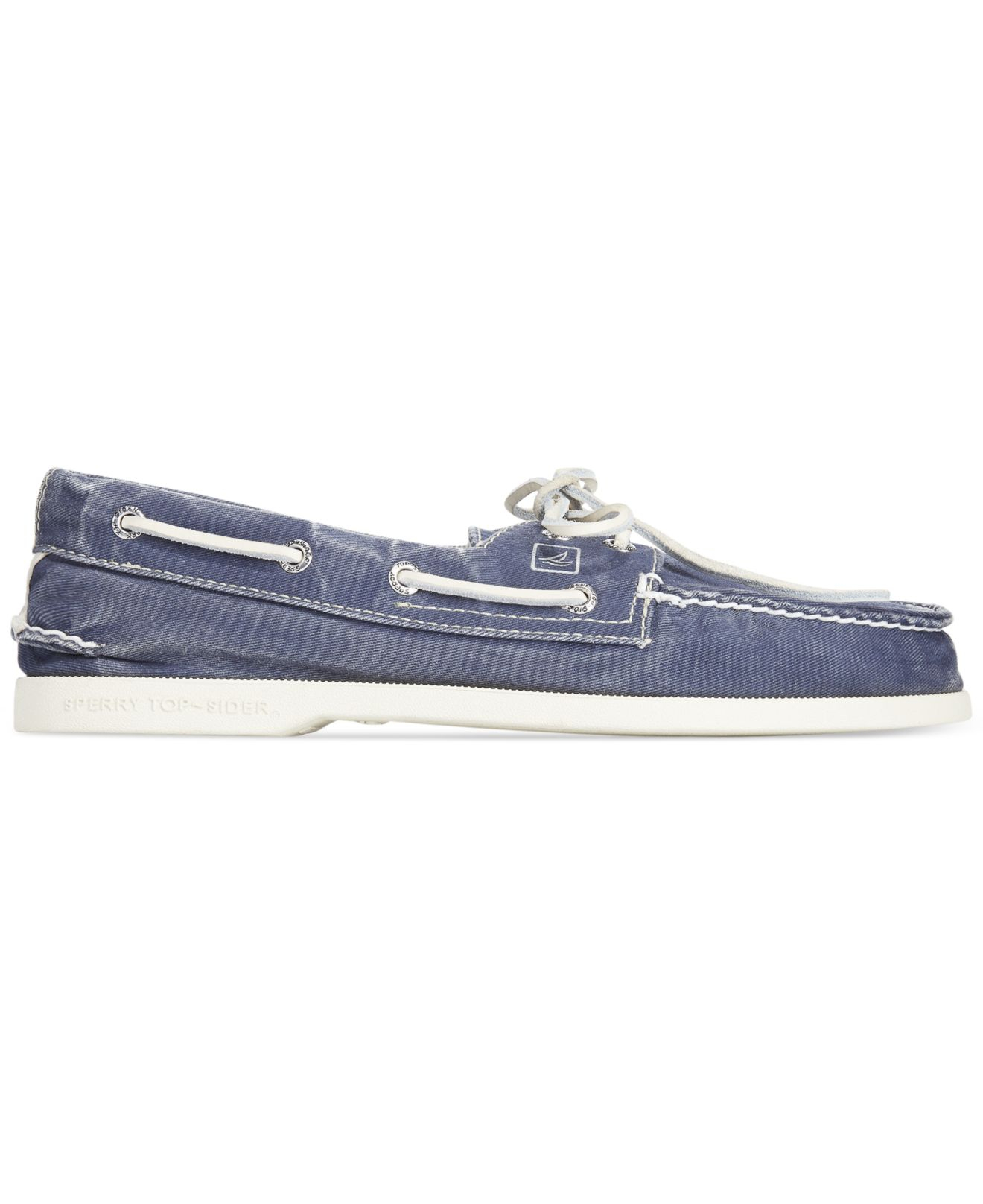 how to clean sperry canvas shoes