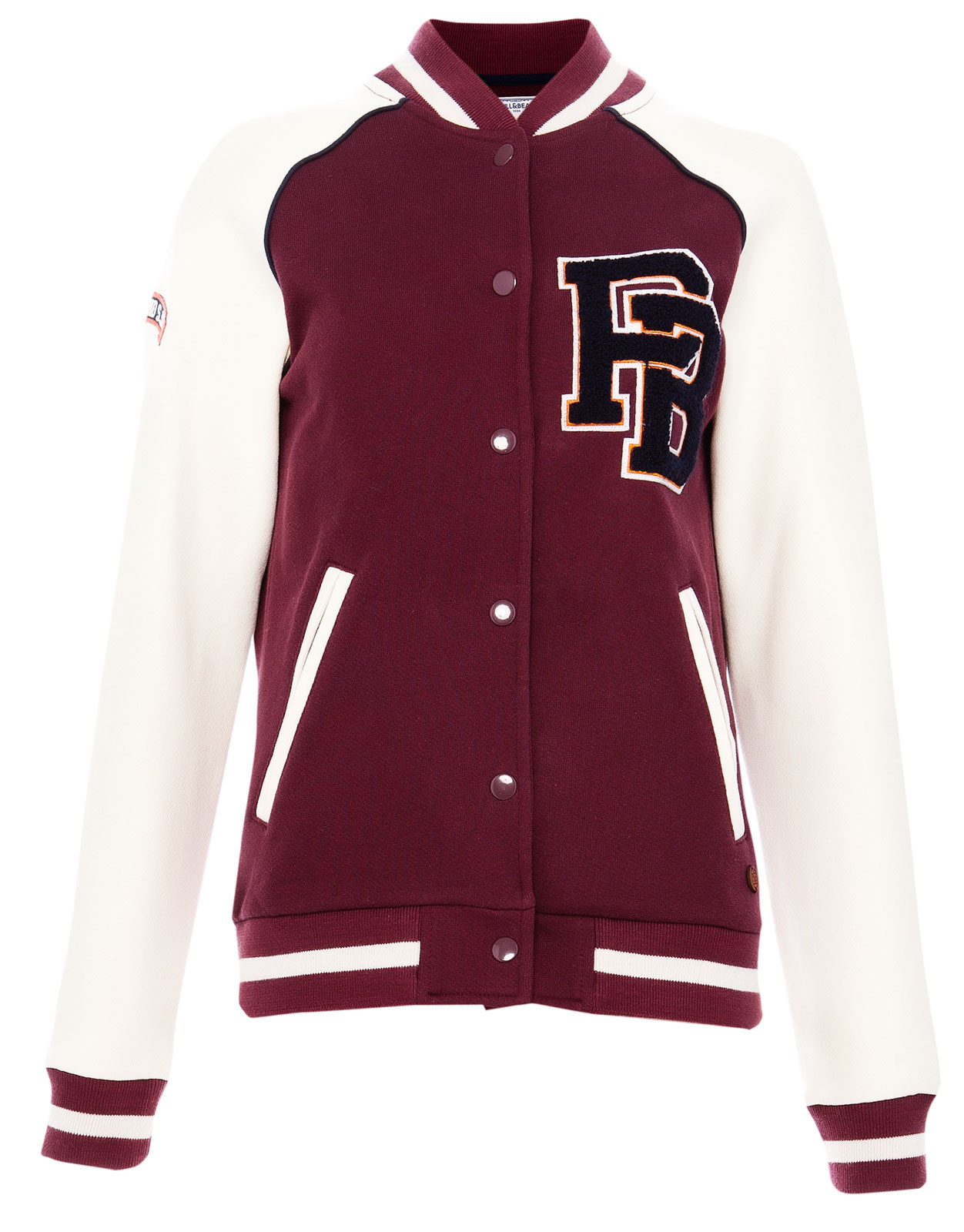 Maroon Baseball Jacket Jacketin