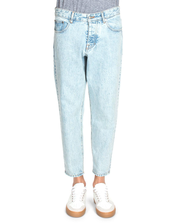 Ami Denim Jeans - Light denim A2yTKVG