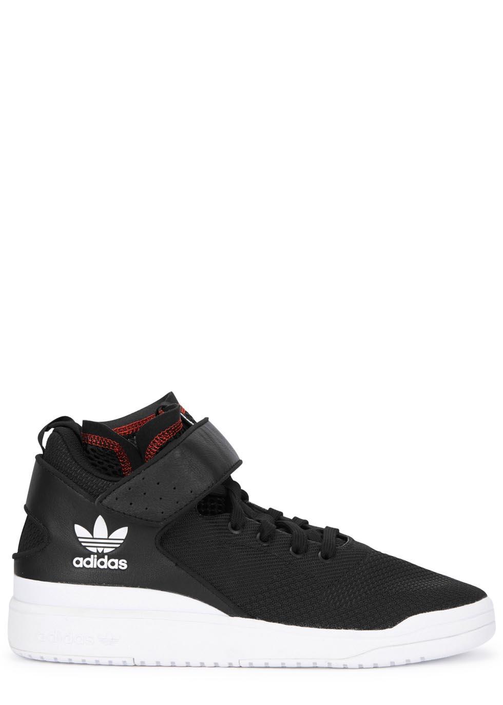 wholesale dealer 668f7 5655a adidas Originals X Veritas Modern Forum Black Woven Trainers in ...