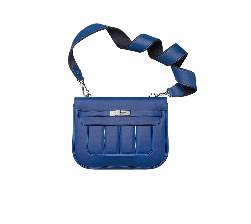 hermes pouches Bazar night blue