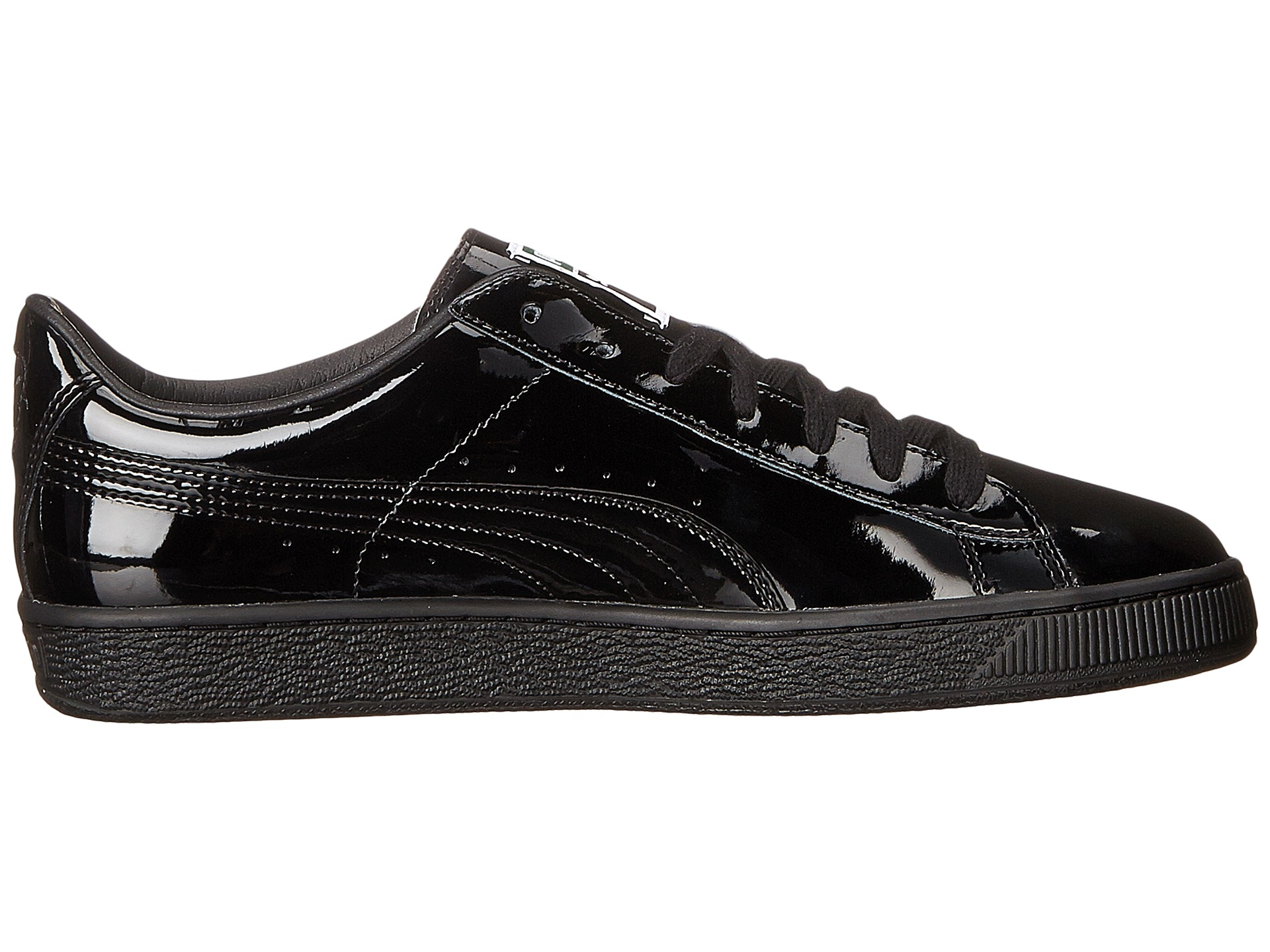 puma basket black gums