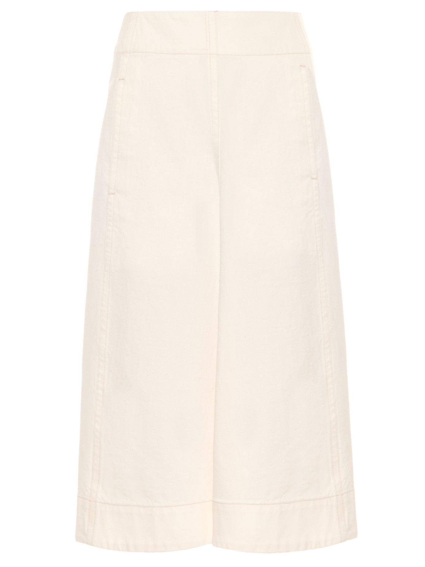 Lemaire A-line Denim Skirt in Pink | Lyst