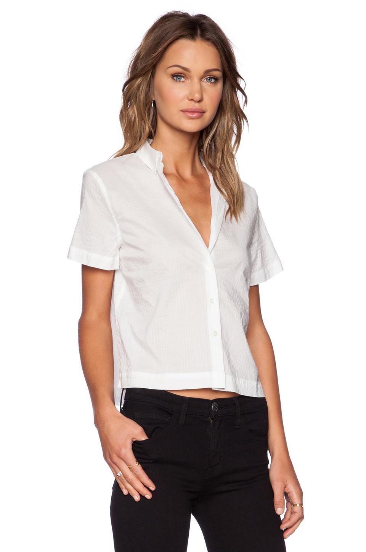 Lyst Atm Short Sleeve Cuban Shirt In White