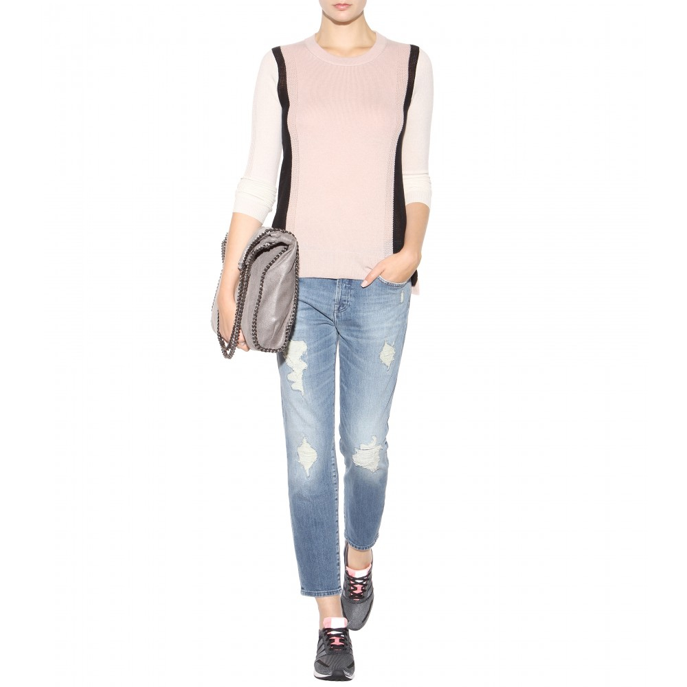 Buy Cheap Shop For Sale Release Dates Womens Josie Crop Unrolled Boyfriend Jeans 7 For All Mankind Buy Cheap Deals A4gomZV1C