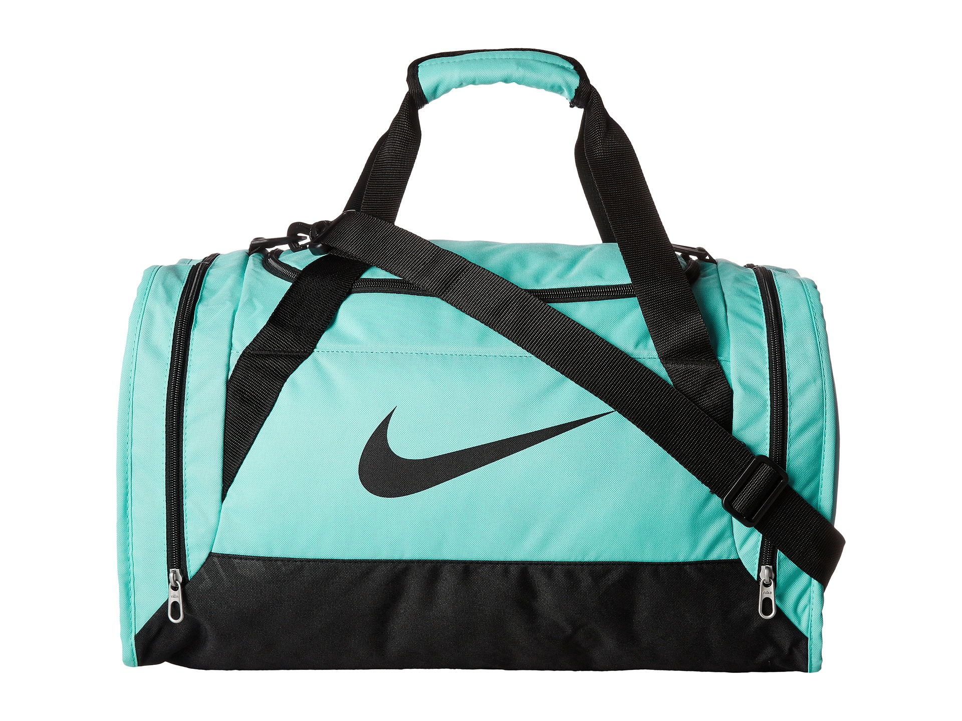 Lyst - Nike Brasilia 6 Duffel Small in Blue 40b23866e0e20
