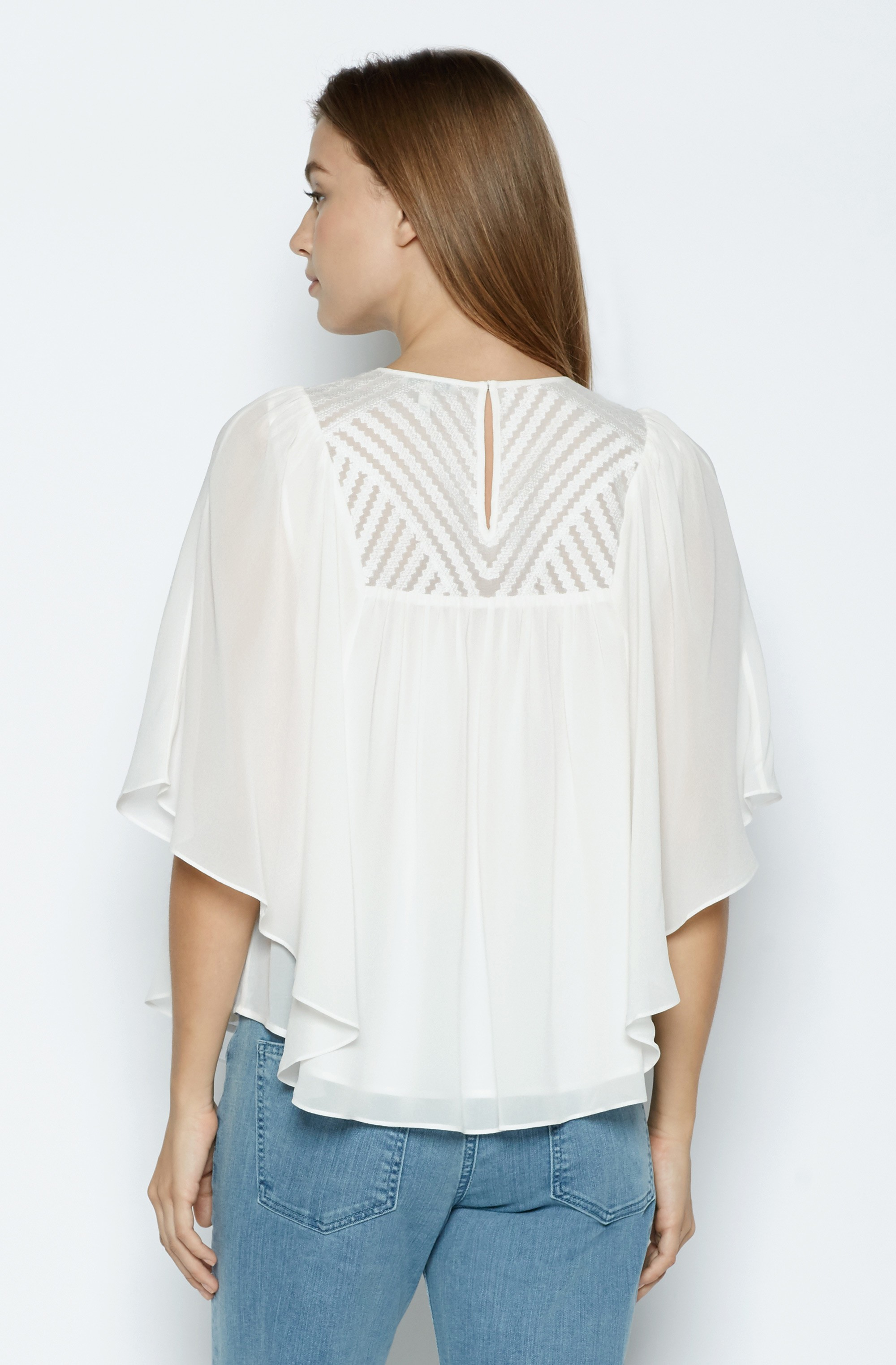 cc71f85d6d3 Lyst - Joie Patel Silk Top in White
