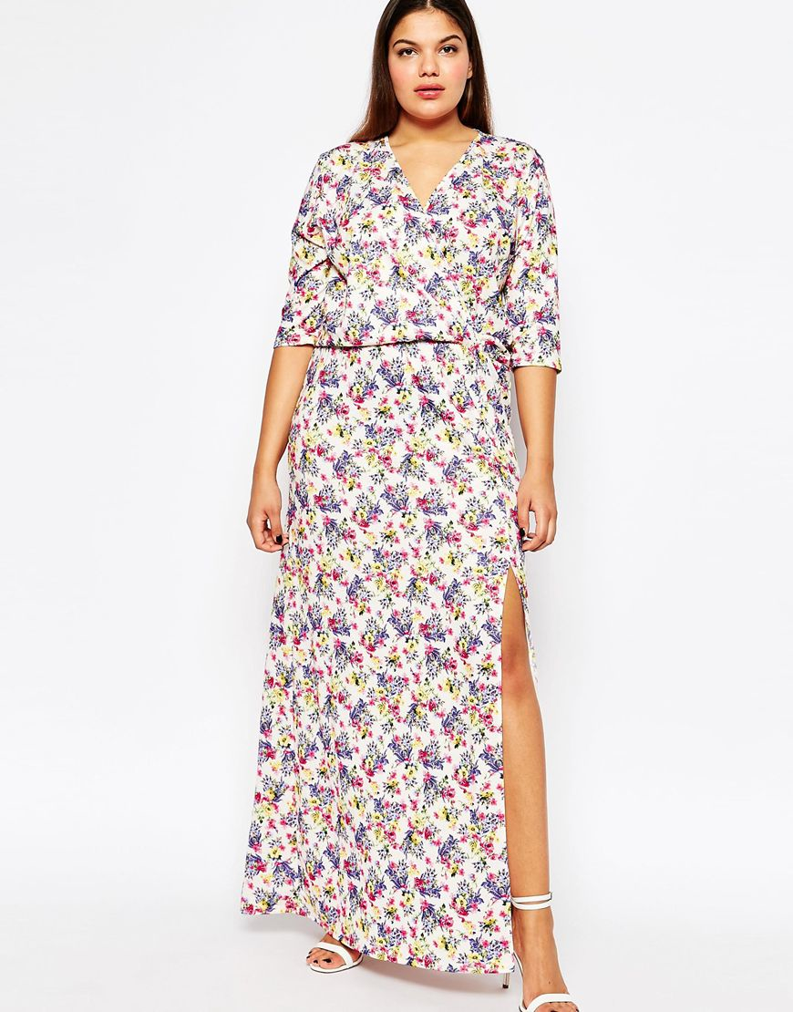 ed20ac953b0 Plus Size Floral Print Maxi Dresses - Data Dynamic AG