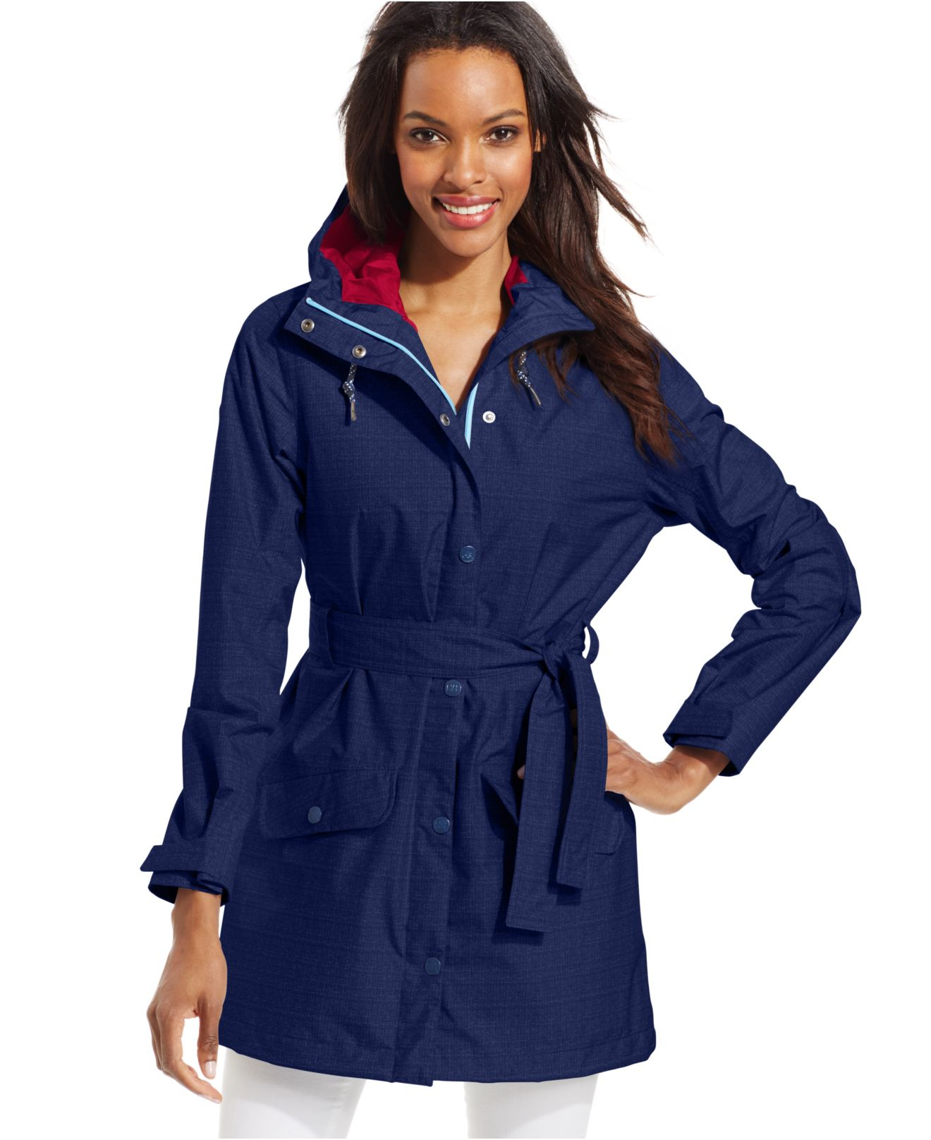 Lyst Helly Hansen Lyness Rain Jacket In Blue