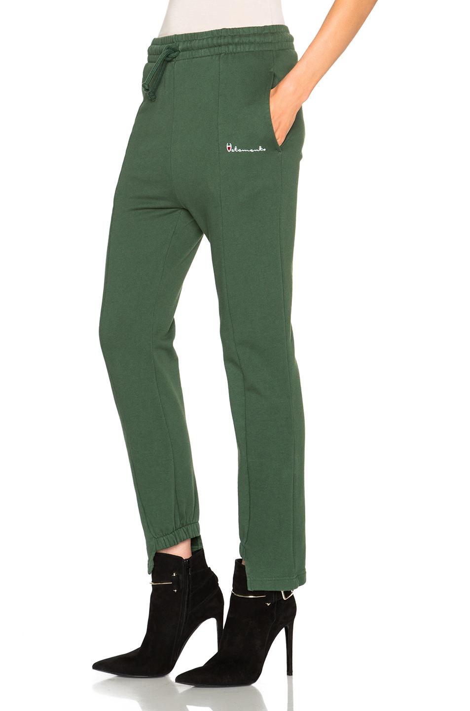 Vetements Sweatpants in Green | Lyst