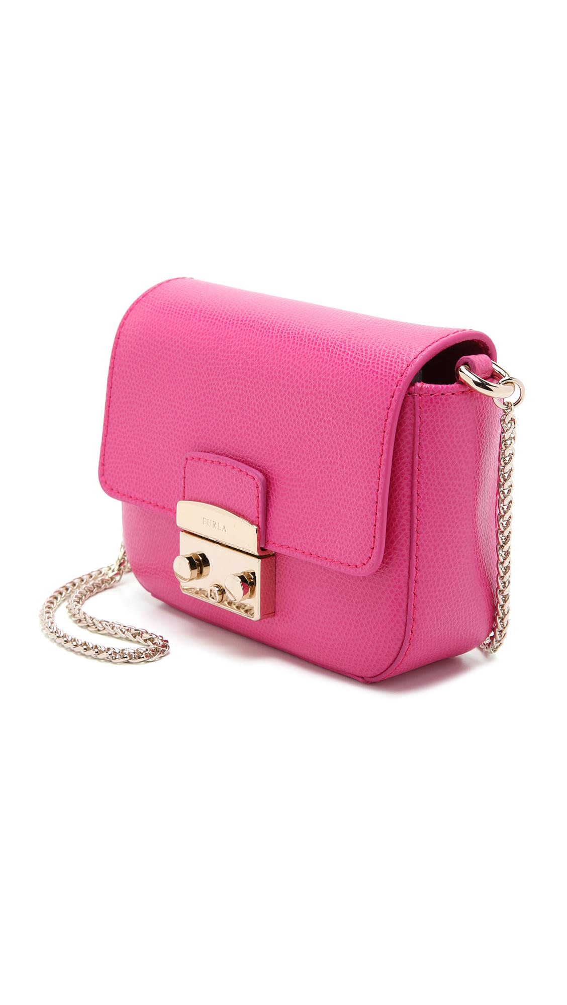 Furla Metropolis Mini pink bag body LUODAyoH8