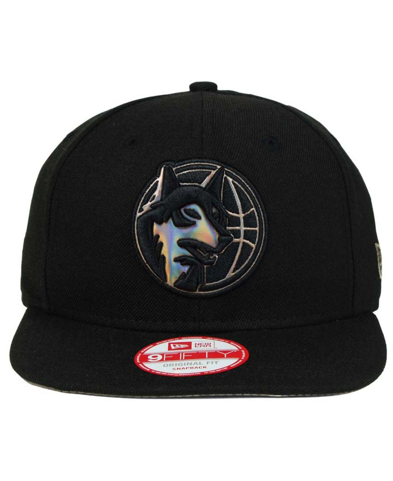 new style a753d 1e78f ... reduced lyst ktz minnesota timberwolves lc 1703 9fifty snapback cap in  5a787 43908