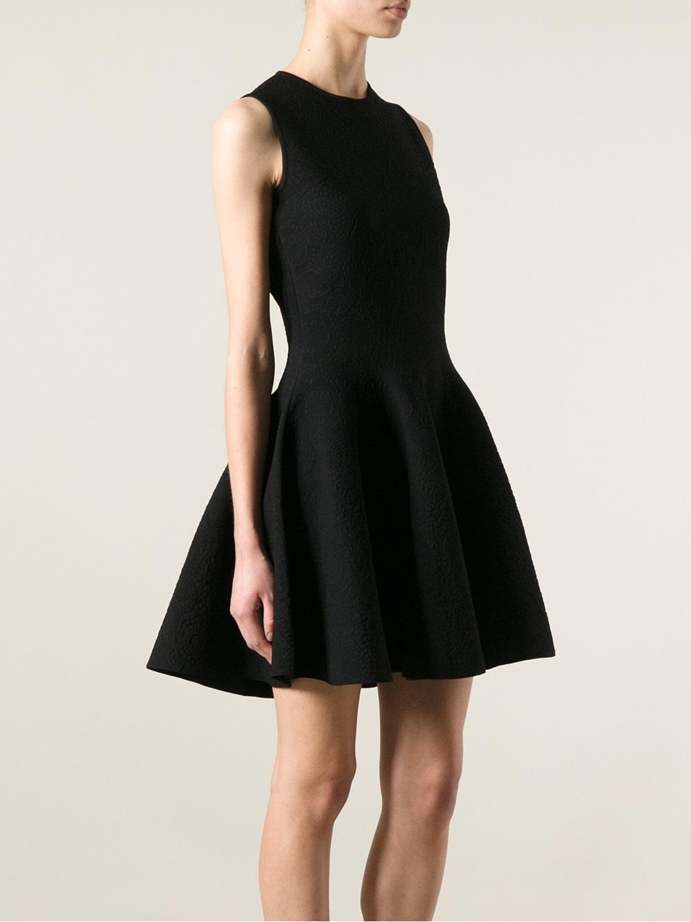 Shopping Discounts Online Hot Alexander McQueen jacquard skater dress fgdMhh