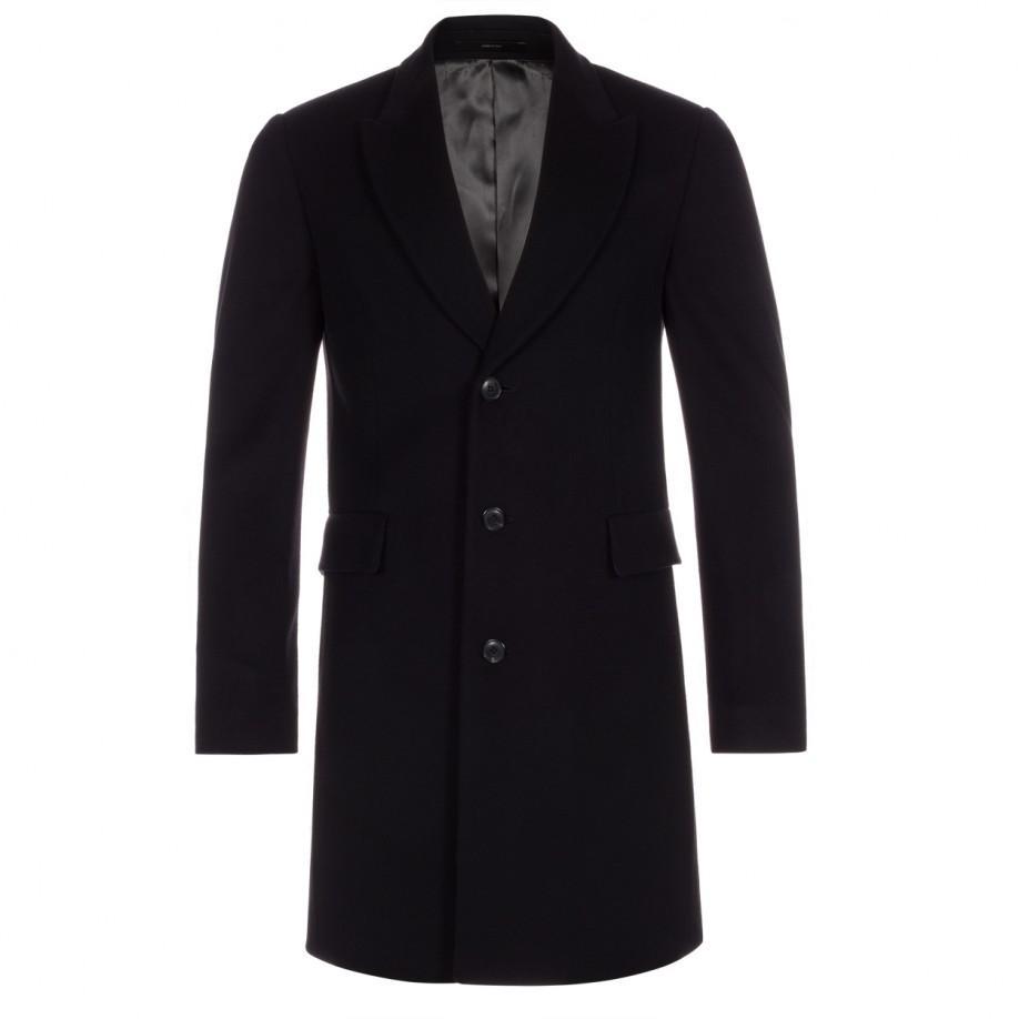 Paul smith Men's Black Wool-cashmere Epsom Coat in Black for Men ...