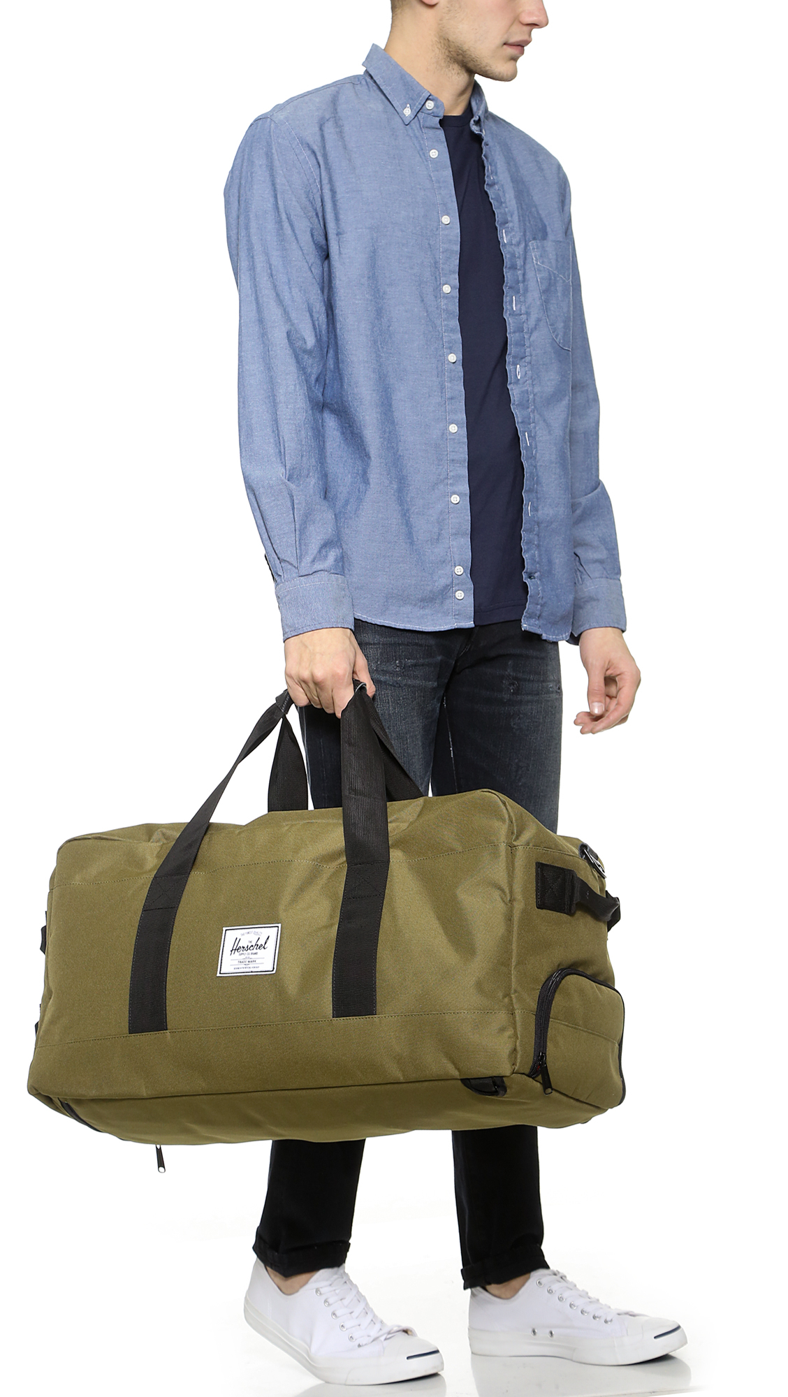 Herschel Supply Co. Outfitter Duffel in Green for Men - Lyst 4ab9c644e7