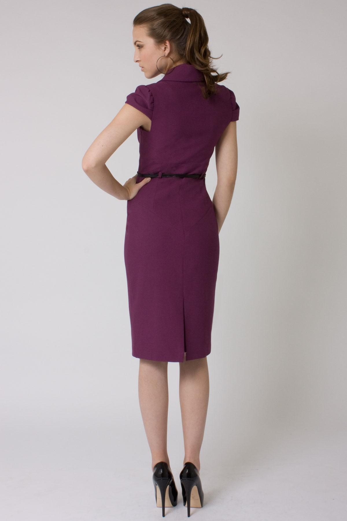 Black Halo Jacket Dress in Purple - Lyst