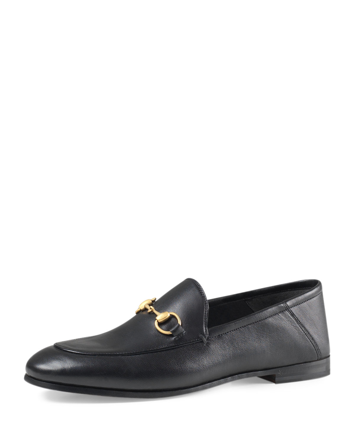 9dce80119f1 Lyst - Gucci Brixton Leather Horsebit Loafer in Black for Men