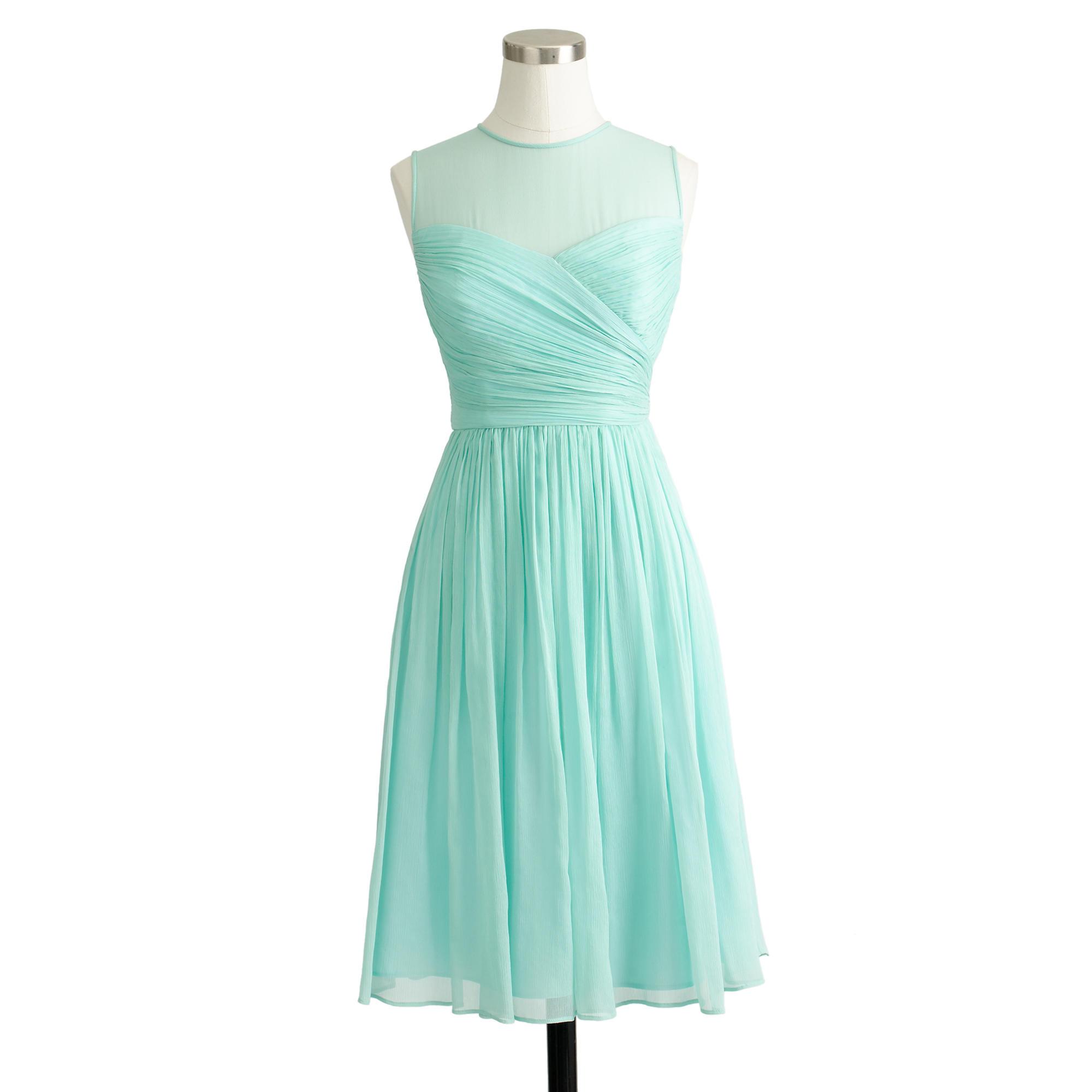 J.Crew Bridesmaids Dresses Aqua