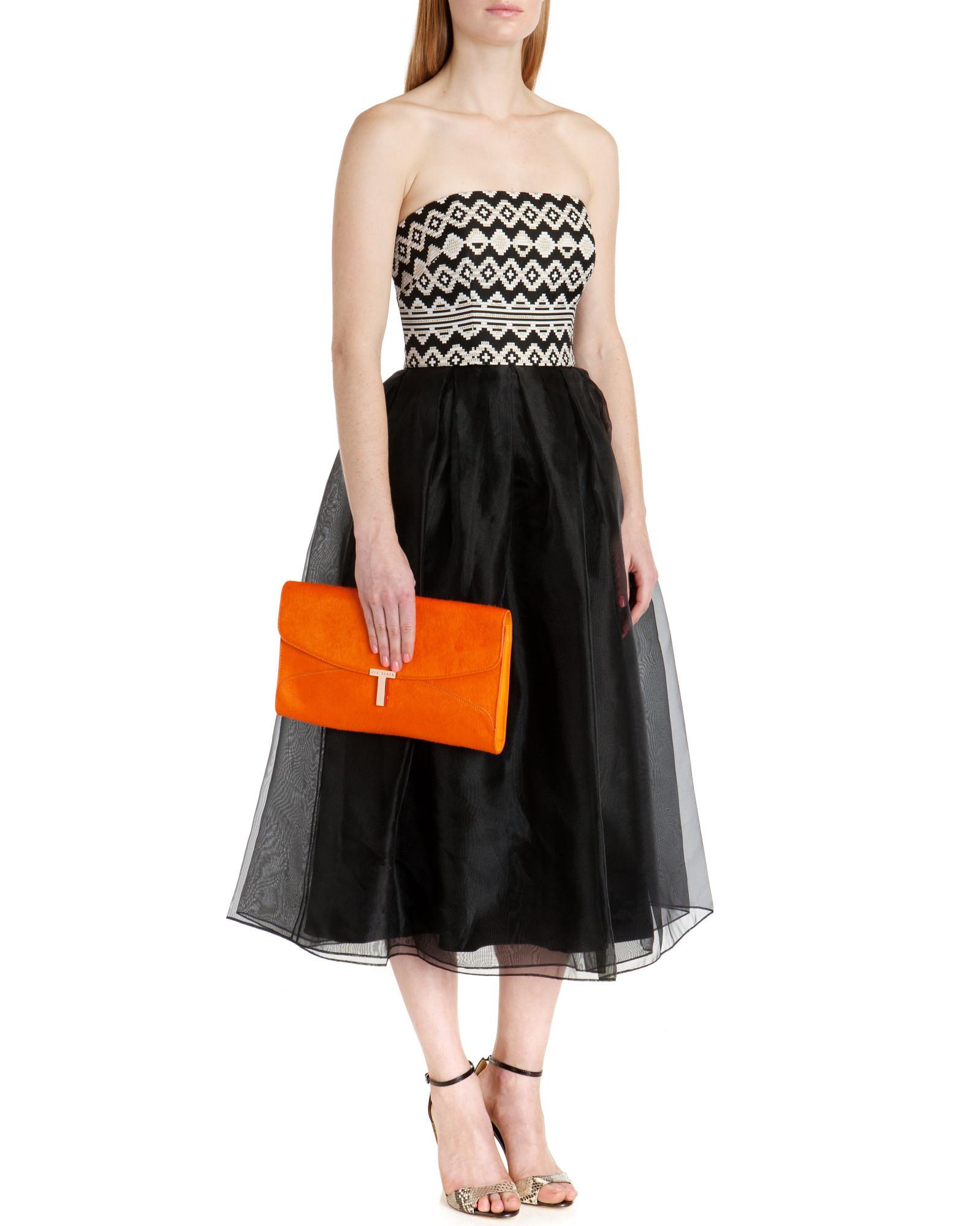 2eb7f4b53de9d6 Ted Baker Kristyn Dress in Black - Lyst