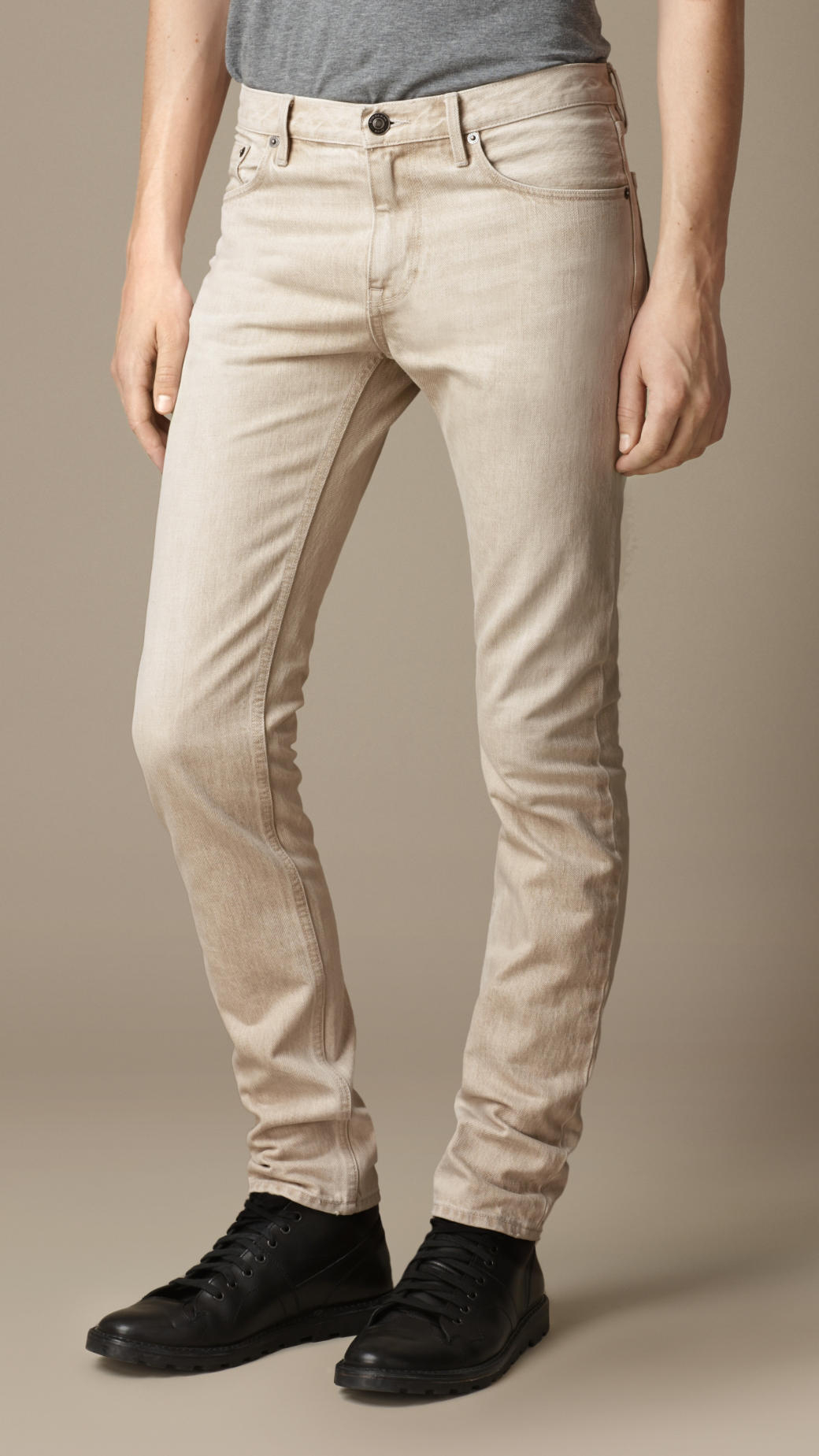 Find great deals on eBay for Mens Beige Jeans in Jeans for Men. Shop with confidence. Find great deals on eBay for Mens Beige Jeans in Jeans for Men. Shop with confidence. Mens CARBON Beige Skinny Jeans tag says 32 x 32 True Measurements 34 x $ Buy It Now. CARBON beige skinny jeans, in very good condition. 75% Cotton 22% Polyester.
