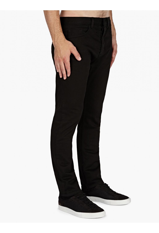 Valentino Men&39s Black Slim Fit Jeans in Black for Men  Lyst