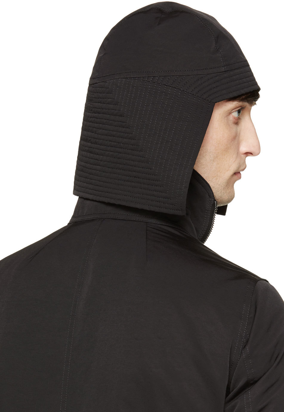 Lyst Rick Owens Black Kabuto Hat In For Men 092e2a14a588