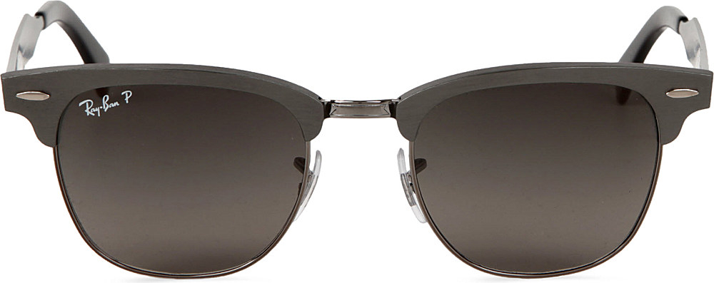 112dd59827 ... style gallery. previously sold at selfridges womens clubmaster  sunglasses womens ray ban 800da 92673 official store ray ban clubmaster  aluminum black ...