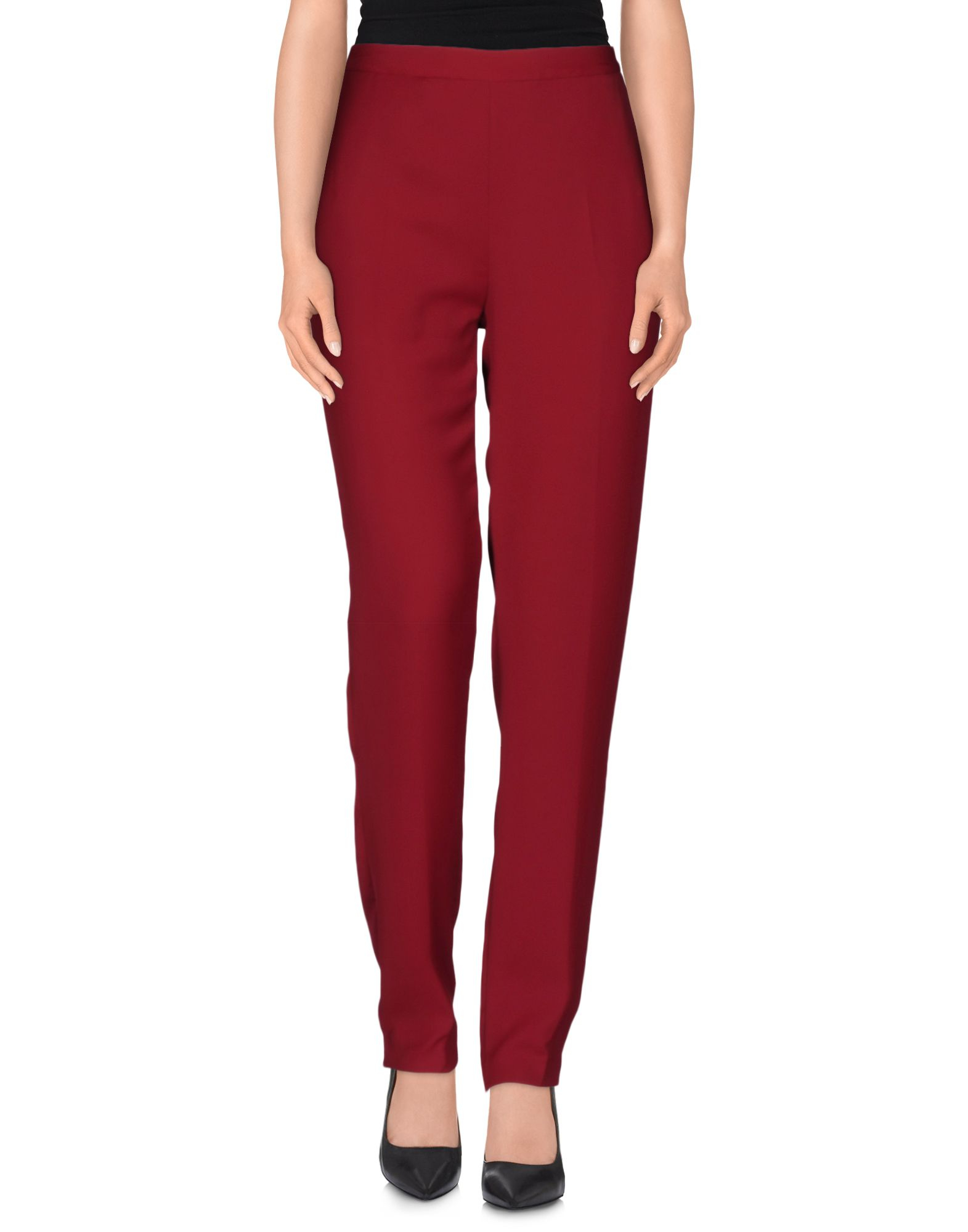 Maison Margiela Casual Pants In Red Lyst