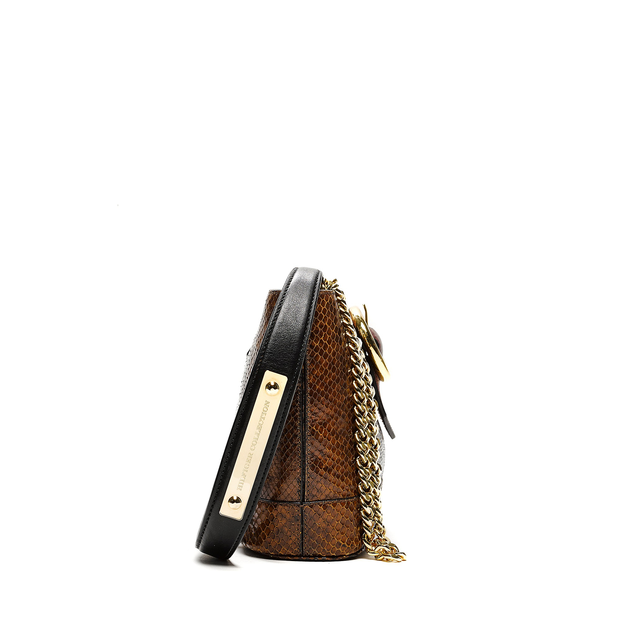 Tommy hilfiger Hilfiger Collection Python Crossbody Bag in ...
